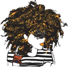 Meet Dana; A Brooklyn Native Who Creates Epic Black Artwork.. Introducing 'Pardon MyFro'