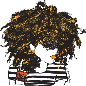 Meet Dana; A Brooklyn Native Who Creates Epic Black Artwork.. Introducing 'Pardon My Fro'