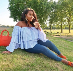 Meet The British Bajan Blogger Bombshell Who Mixes Her Love Of Fashion With Embracing Her Curves While Inspiring Others To Do The Same…This Is Lauren Nicole